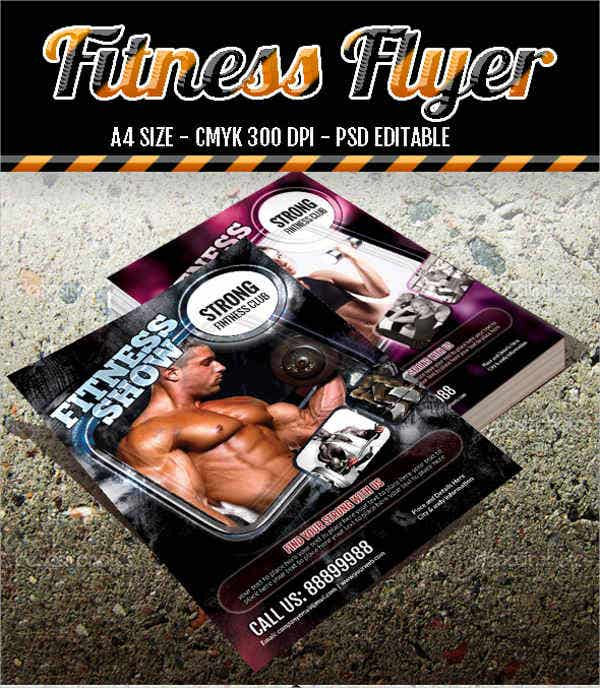 a4-gym-fitness-flyer
