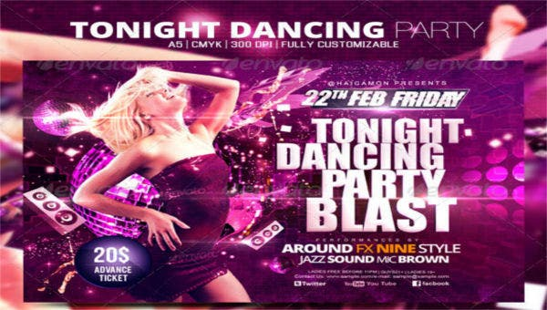 dancepartyflyers