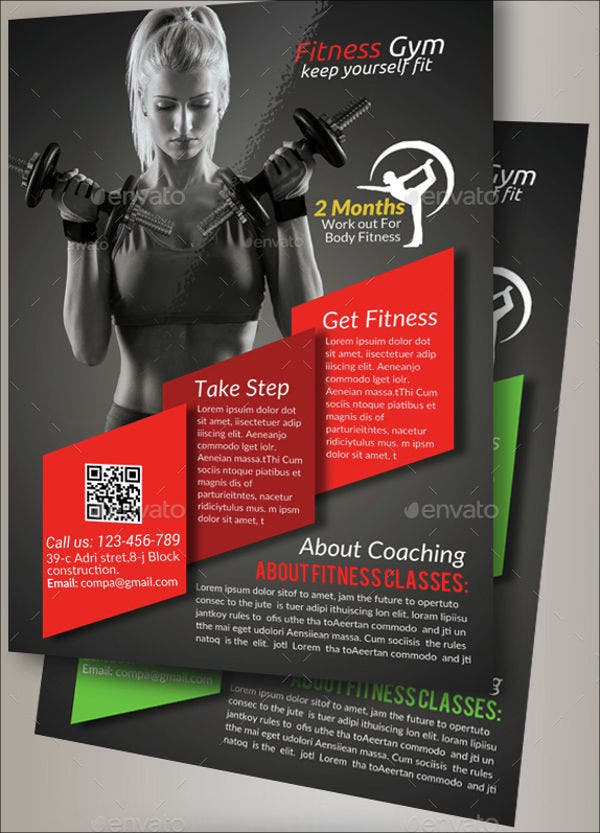 body fitness club flyer1