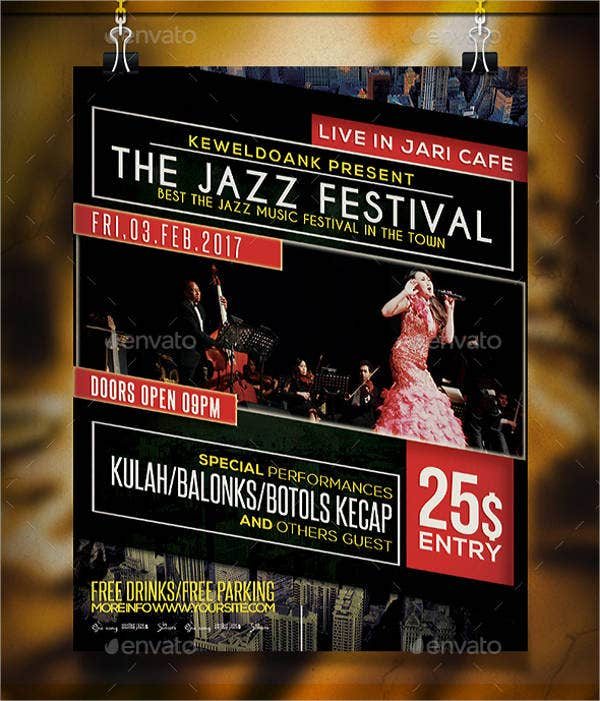 Jazz Music Event Flyer