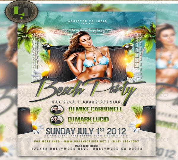 beach pool party flyer3