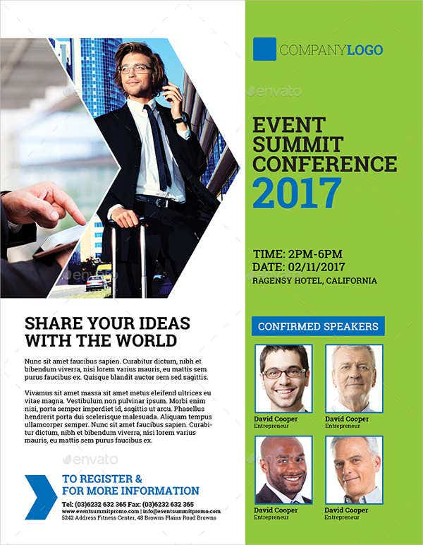 event summit conference flyer1