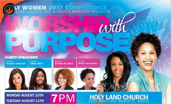 womens conference event flyer1