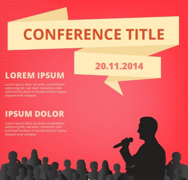 6+ Conference Event Flyers - Psd, Pdf, Vectors, Eps, Pdf, Indesign