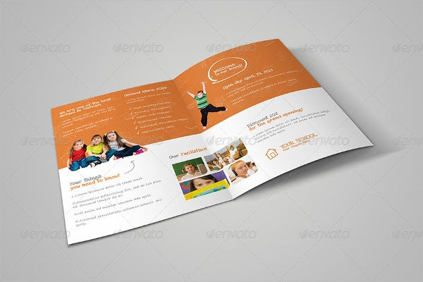 Education Brochure Tri-fold & Bi-fold