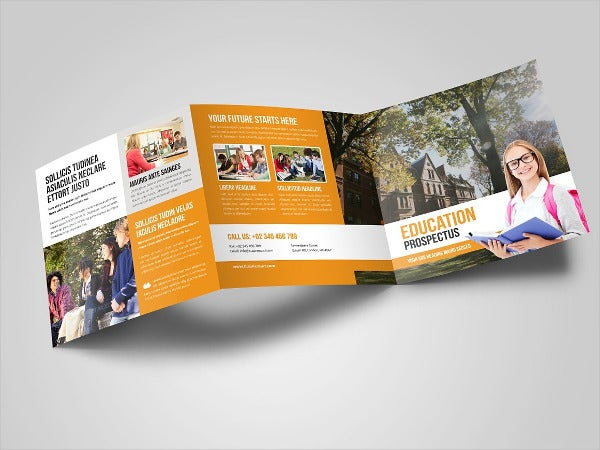Education Square Trifold Prospectus