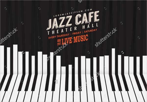 Jazz Vintage Event Flyer