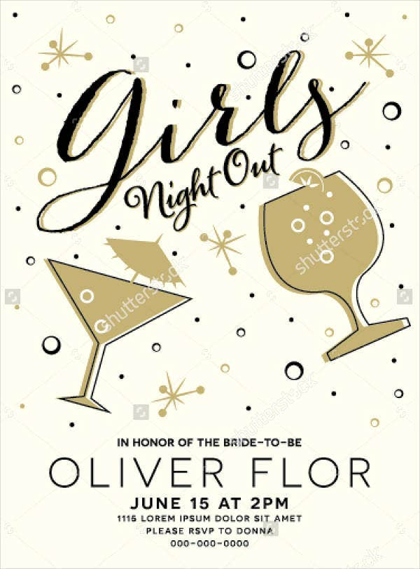 girls-drink-party-flyer