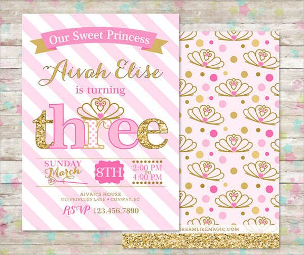 princess-birthday-party-flyer