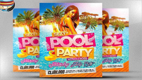 8poolpartyflyers