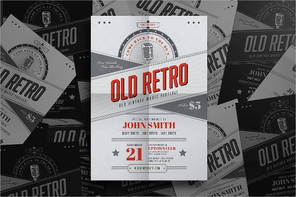Retro Vintage Event Flyer