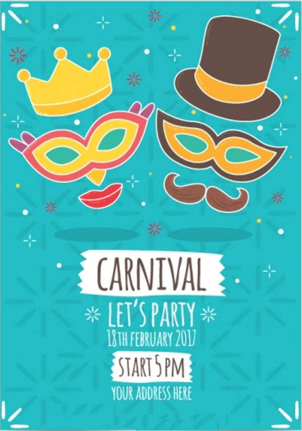 carnival-mask-party-flyer