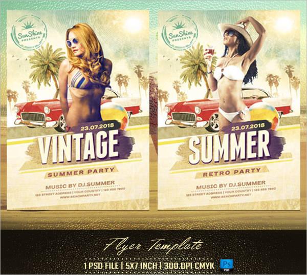 vintage-drink-party-flyer