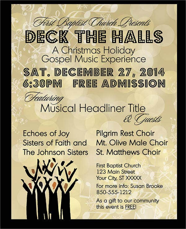Music Concert Event Flyer