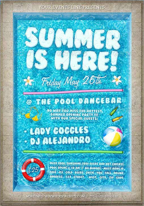 pool party event flyer2