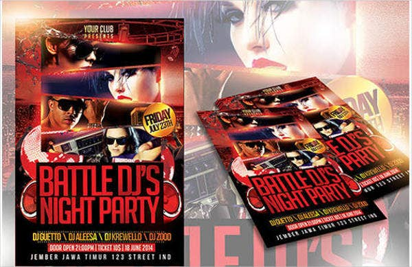club party event flyer1