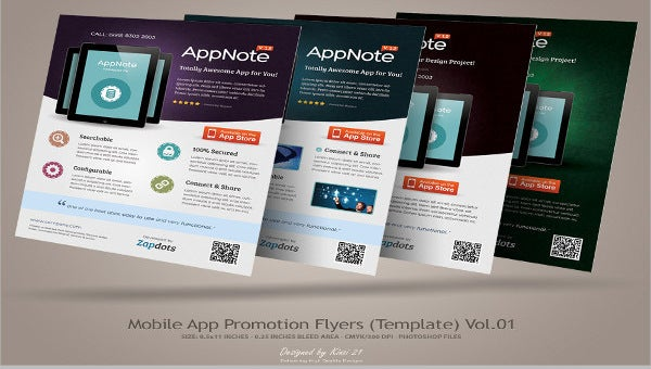 mobile app promotion brochure1
