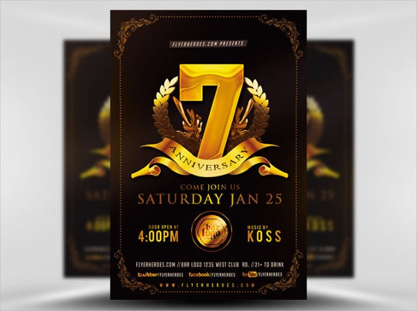 company-anniversary-flyer-template