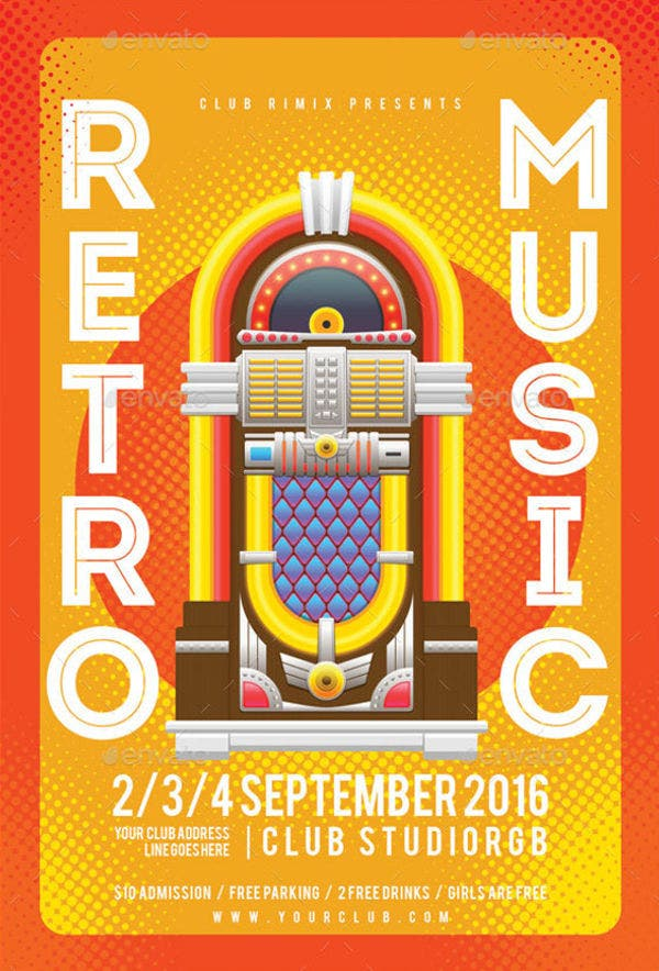 retro-music-party-flyer