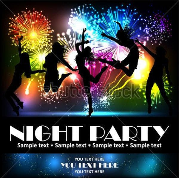 music-night-party-flyer