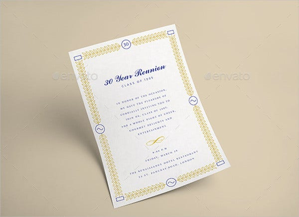 Sample Event Invitation Template