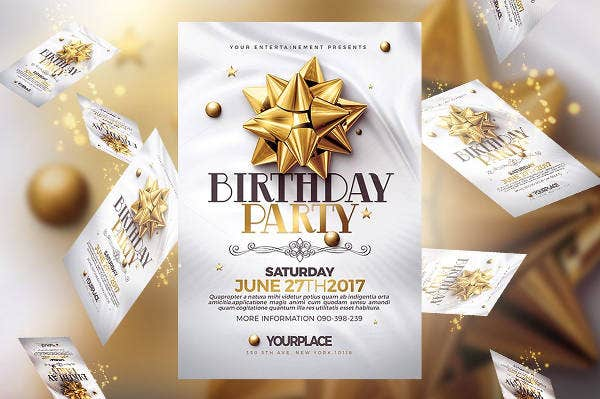 Birthday Party Invitation Banner
