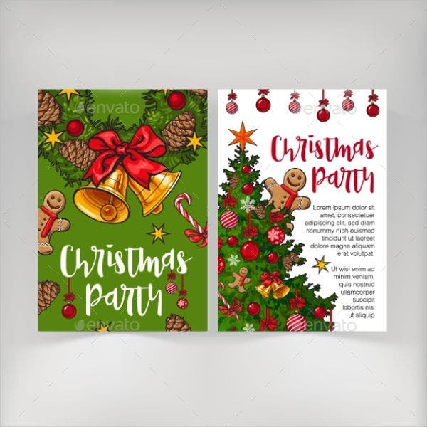 Christmas Party Invitation Banner
