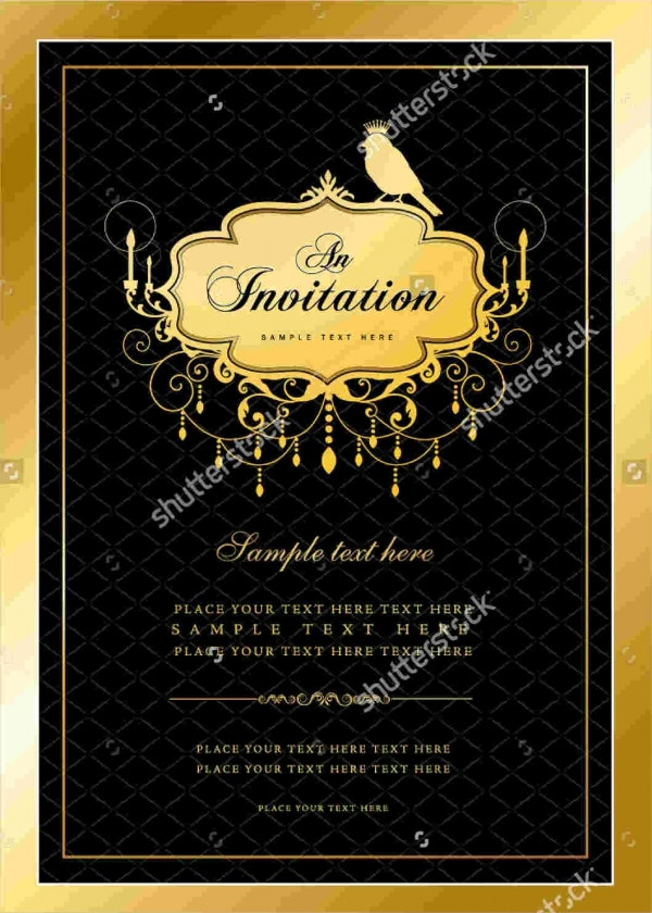 Dinner Party Invitation Banner