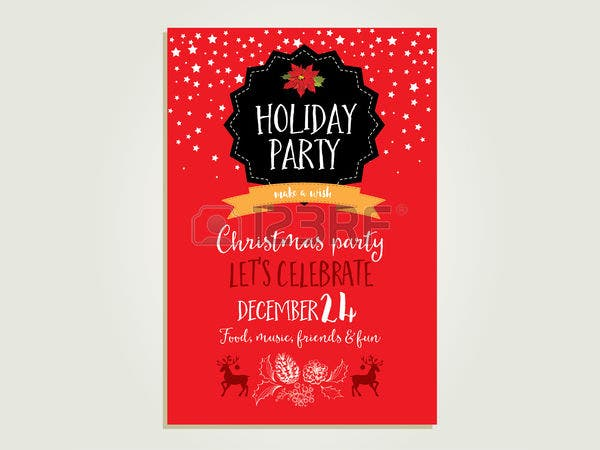 Holiday Party Invitation Banner