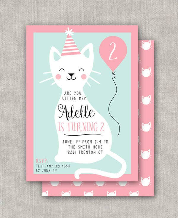 Kitty Party Invitation Banner