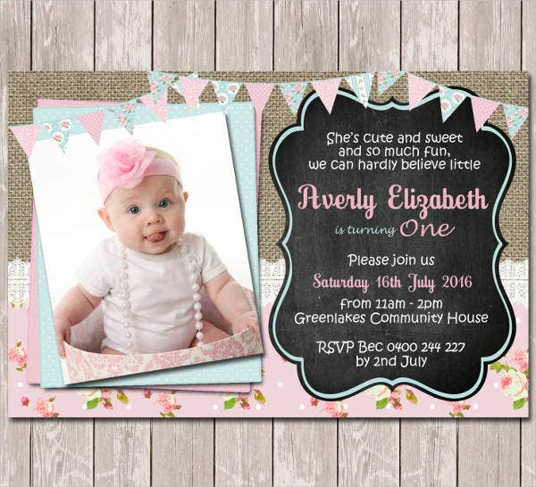 personalized minnie mouse birthday invitation