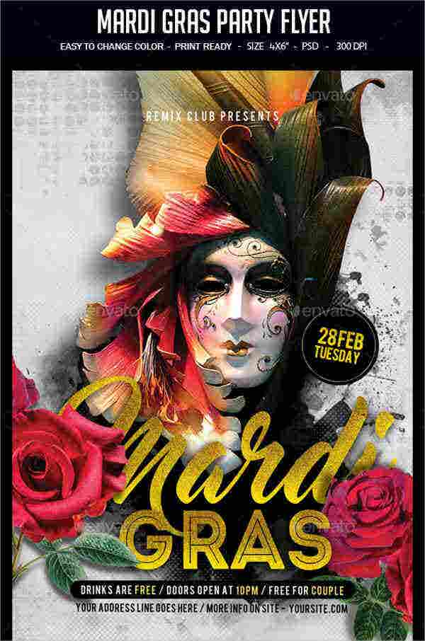masquerade-costume-party-flyer