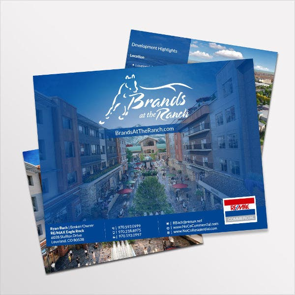 Commercial Corporate Real Estate Brochure