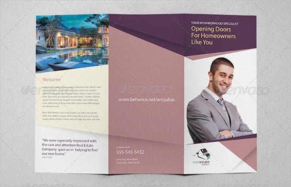 corporate real estate agent brochure