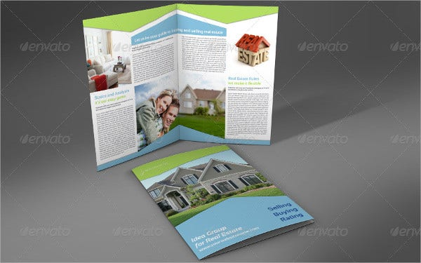 corporate real estate company brochure