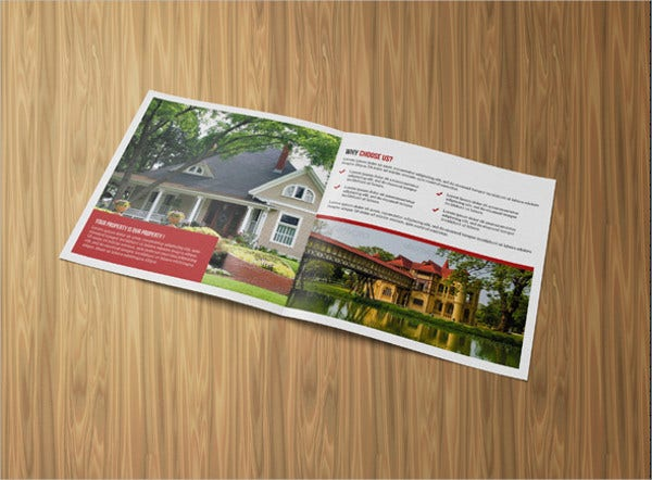 corporate square real estate brochure