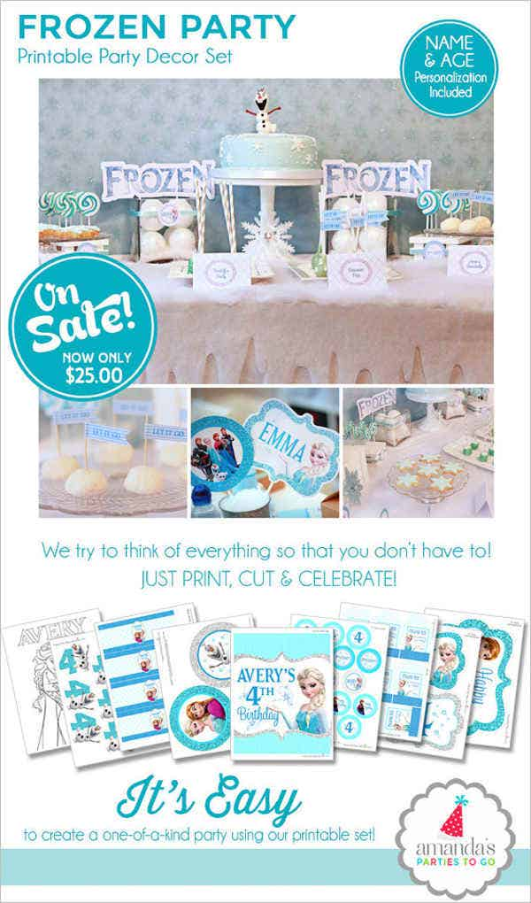 frozen-birthday-invitation-banner