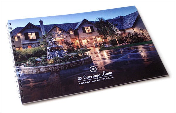Luxury Corporate Real Estate Brochure