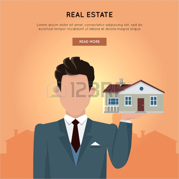 real estate advertising company banner
