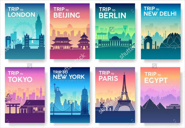 Advertising Travel Landscape Banner