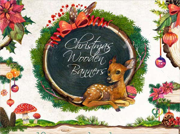 watercolor christmas invitation banner1