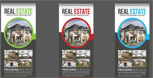 real-estate-advertising-roll-up-banner
