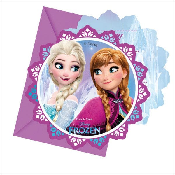 Disney Frozen Party Invitation