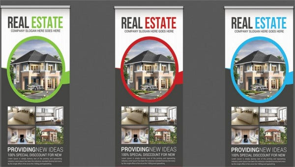 9+ Real Estate Advertising Banners - Design, Templates