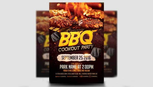bbqpartyflyers