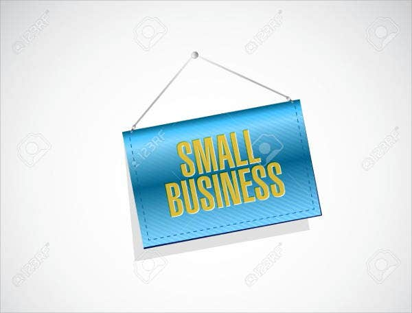 small business advertising banner