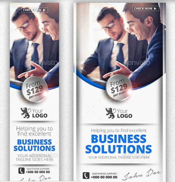 business facebook advertising banner
