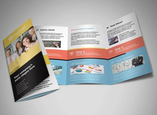 event management consulting brochure