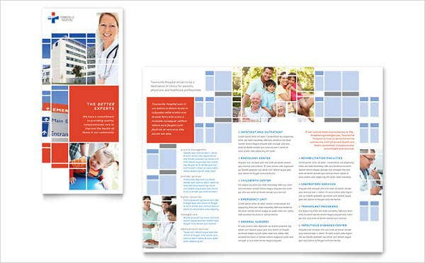 hospital event management brochure