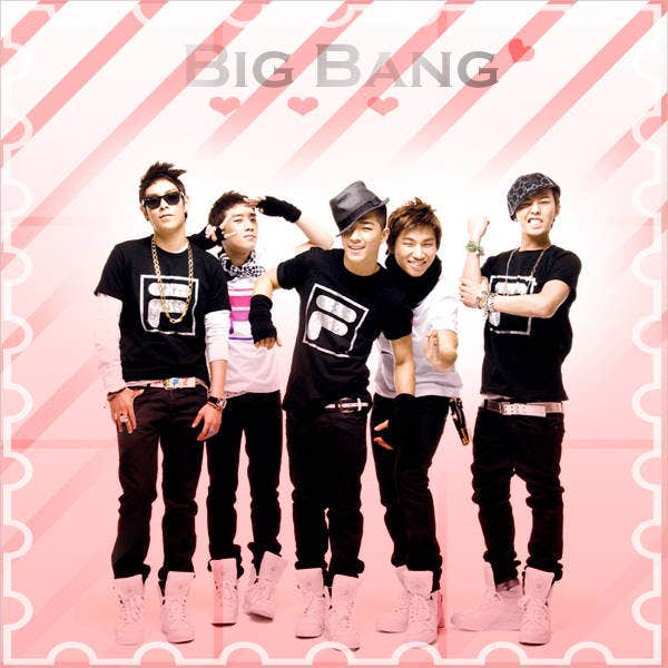 big bang valentines day poster